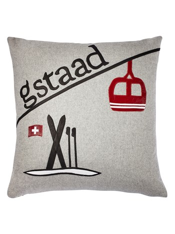 gstaad gondola pillow