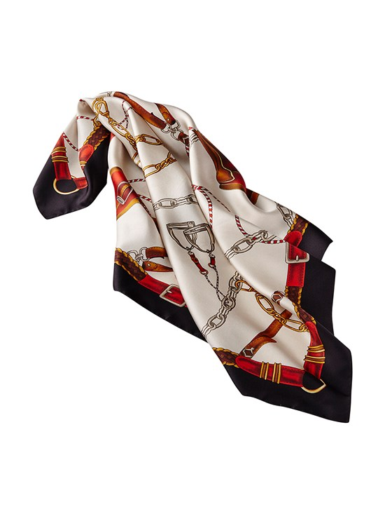 mirabell square silk scarf