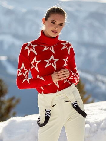 stardust turtleneck ski sweater