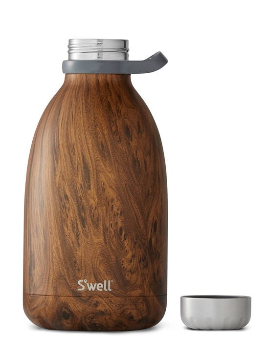teakwood roamer water bottle 64 oz