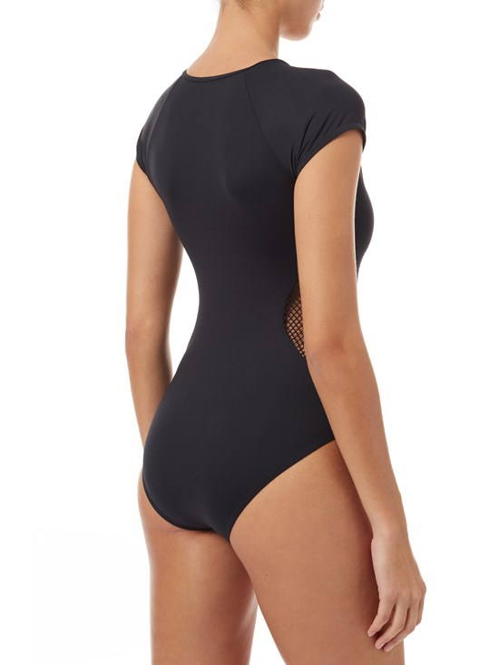 rio mesh cut-out one piece
