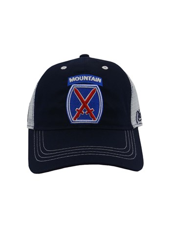10th mountain trucker hat