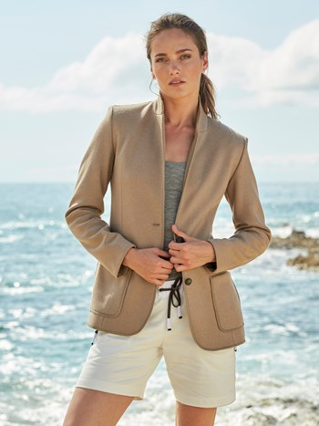 ruth wool double light jacket
