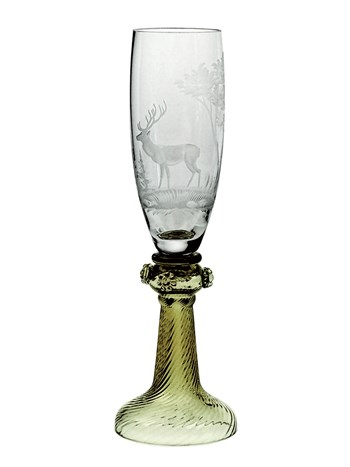 megeve champagne glass
