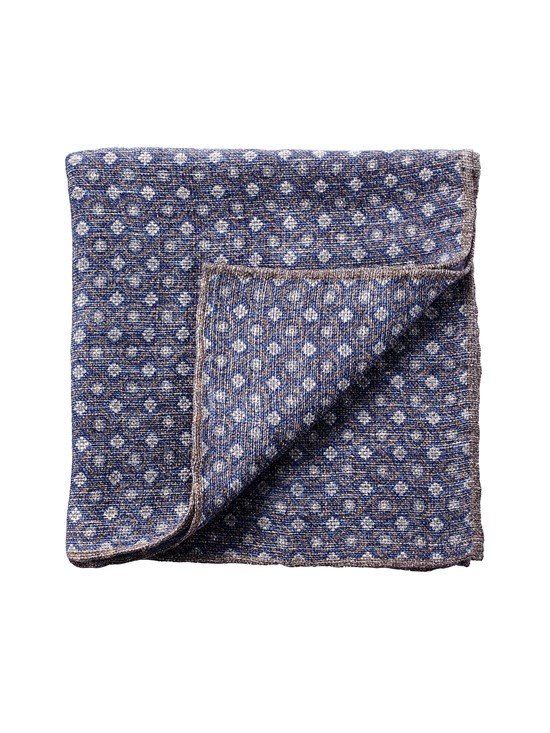 linen foulard pocket square
