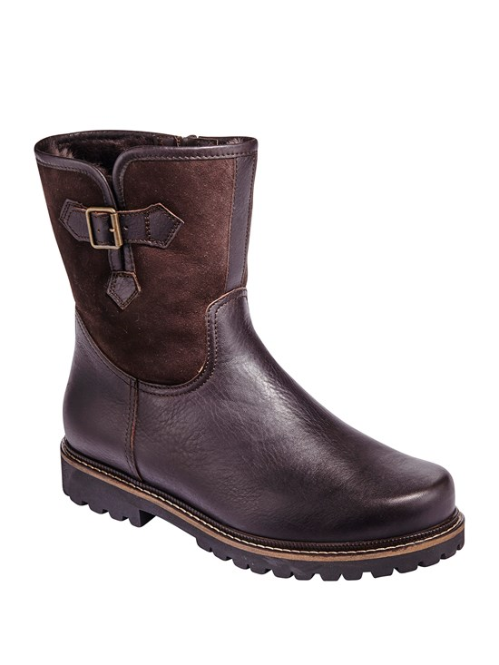 kitz shearling boot