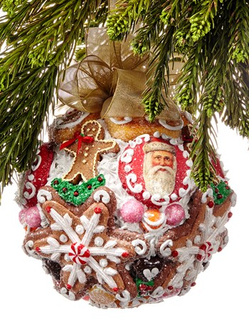 candy kiss ornament