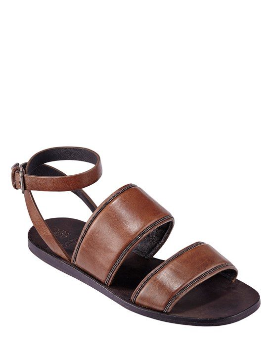 leather monili sandal