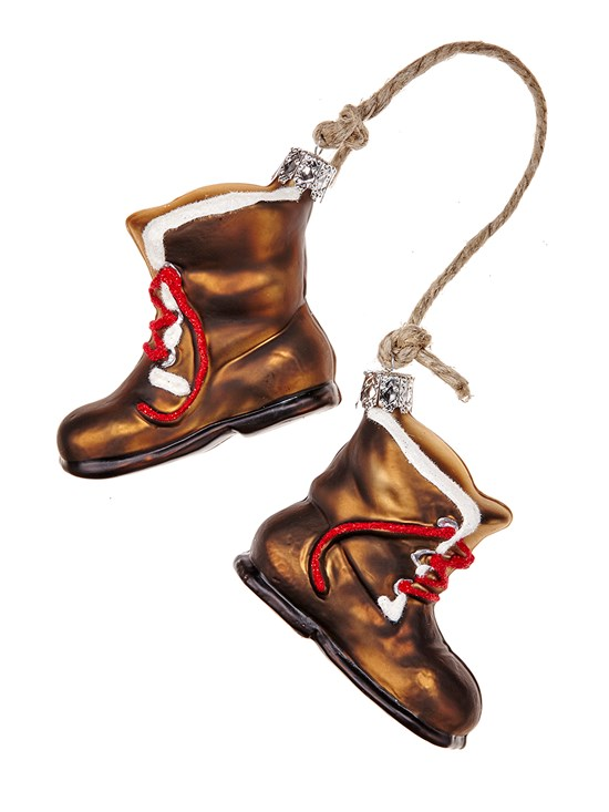 swiss boots ornament