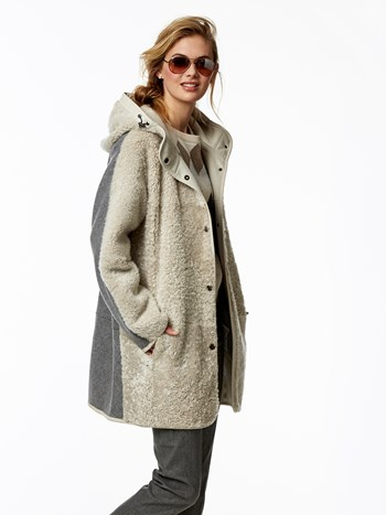 lina shearling coat