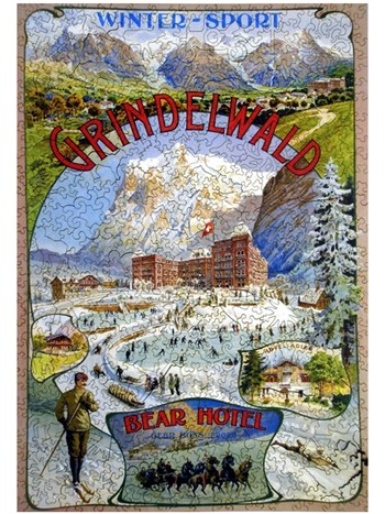 grindelwald a winter sport puzzle
