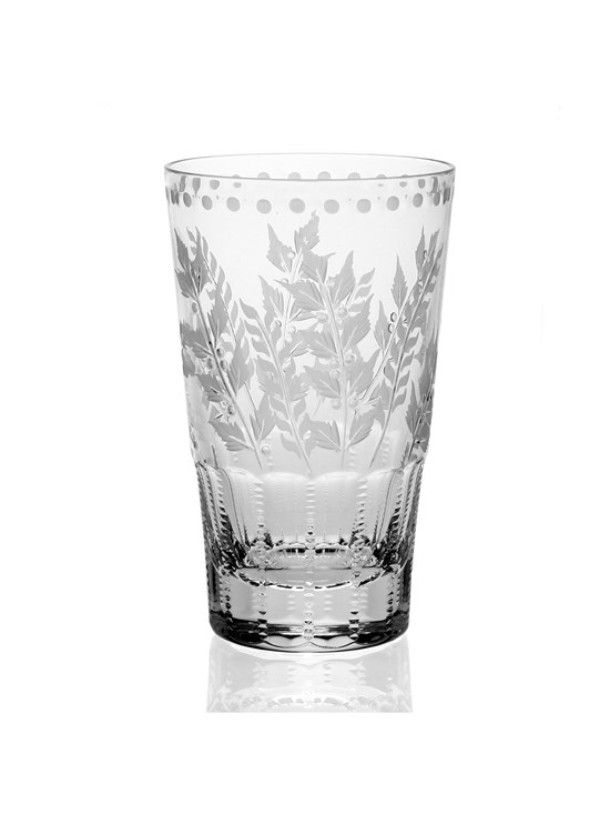 fern highball glass