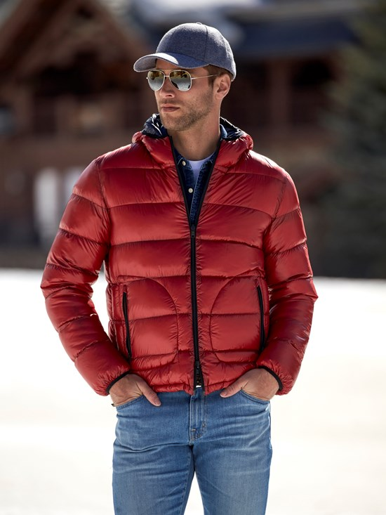 7den reversible down jacket