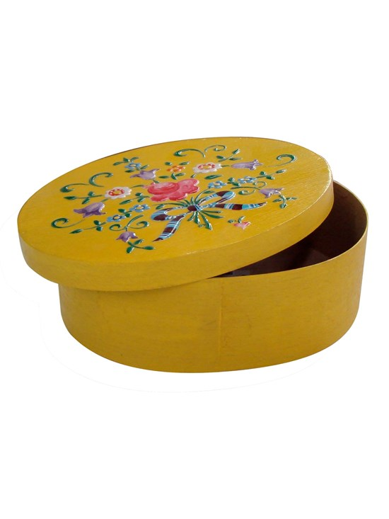oval floral box