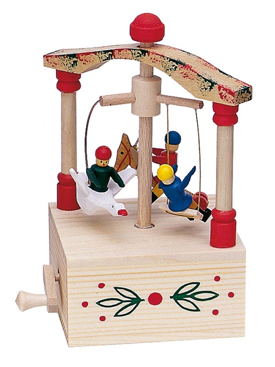 children's carrousel music box