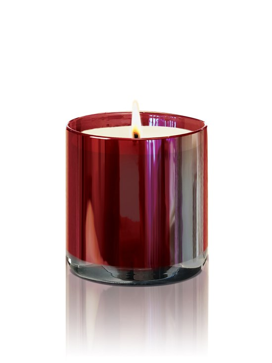 crimson berry candle