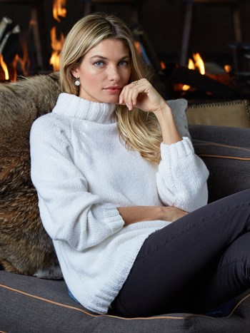 linda cashmere sweater