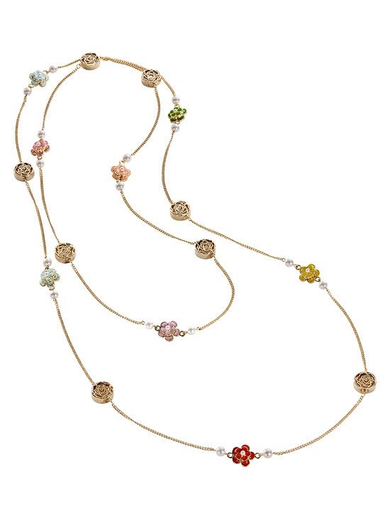 rianna flower necklace