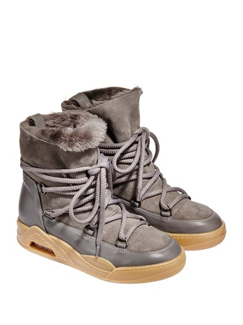 resort shearling boot
