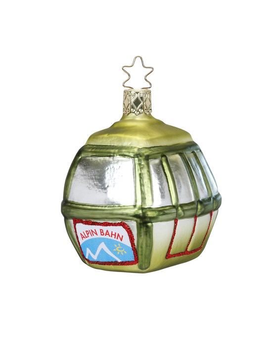 green gondola ornament