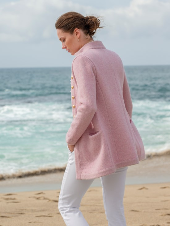 marisol soft wool cardigan