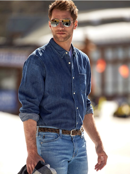 nelson denim shirt