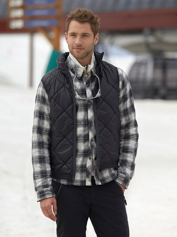 ari insulated quilted vest