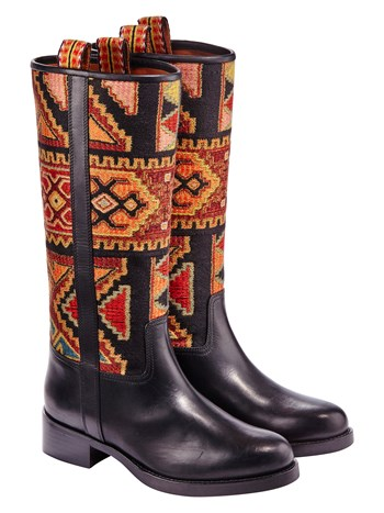 caia ikat embroidered boot