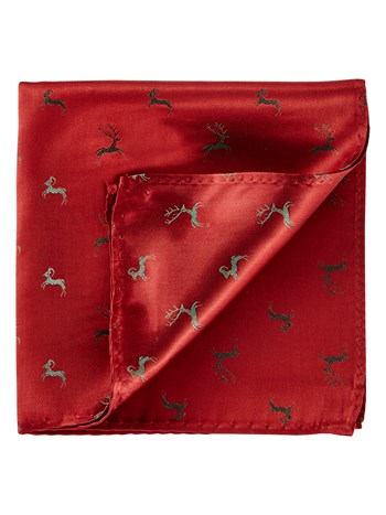 stag pocket square