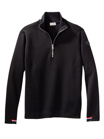 lupetto quarter zip ski sweater