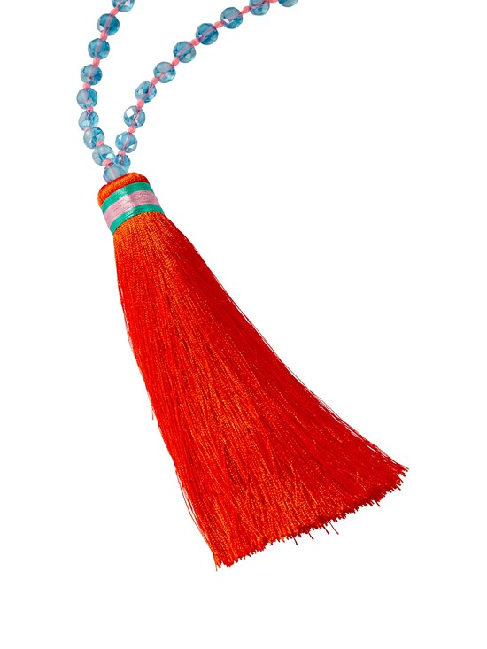 loa tassel necklace