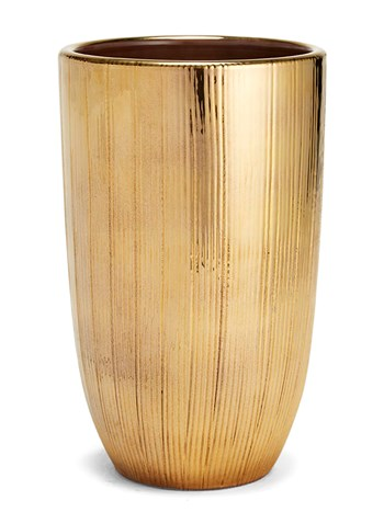 gold vase small