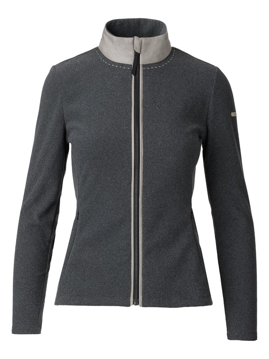 becky brushed midlayer jacket
