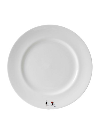skier plate large