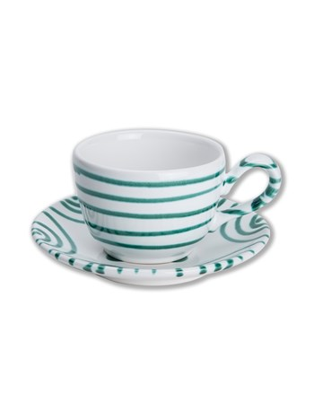 swirl cup and saucer