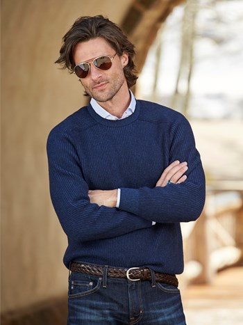 dinghy cashmere ski sweater