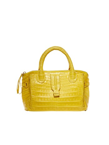 christina mini croc handbag
