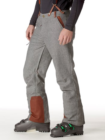 alpine trouser wool insulated ski pant