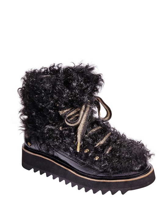 kirsi curly shearling boot