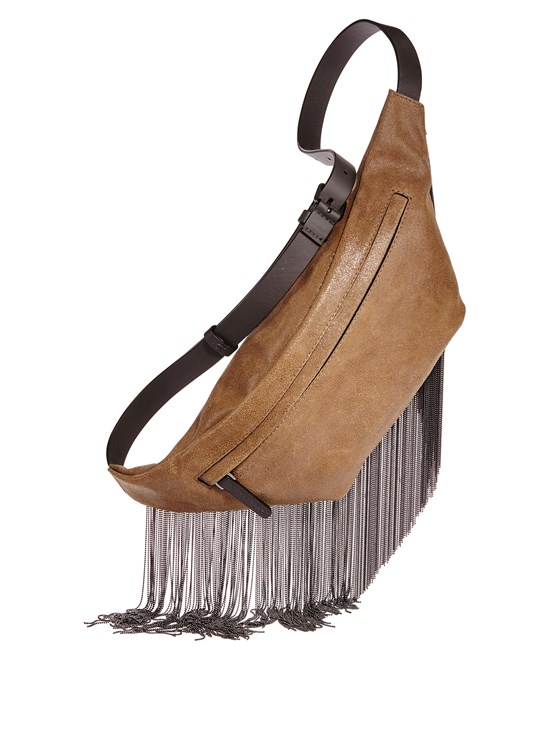 monili fringe belt bag