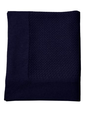 bari criss cross cashmere throw