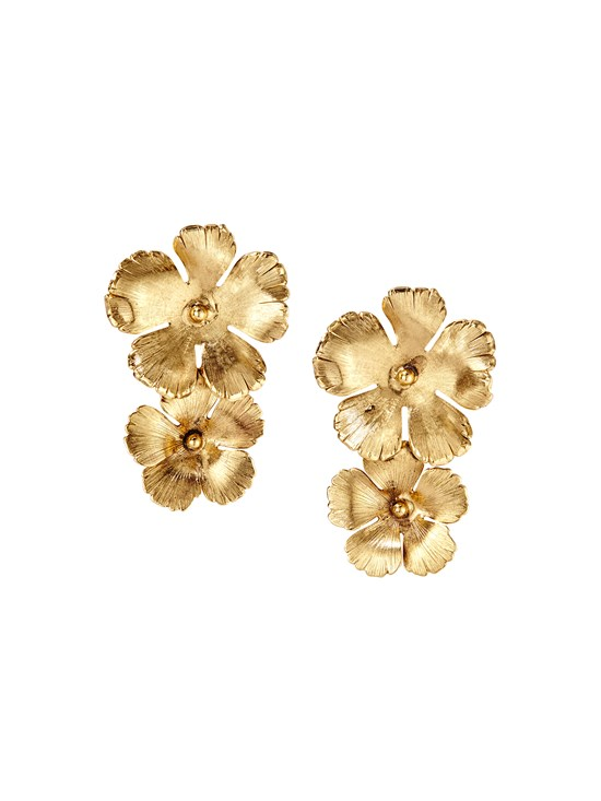 colette medium gold earring