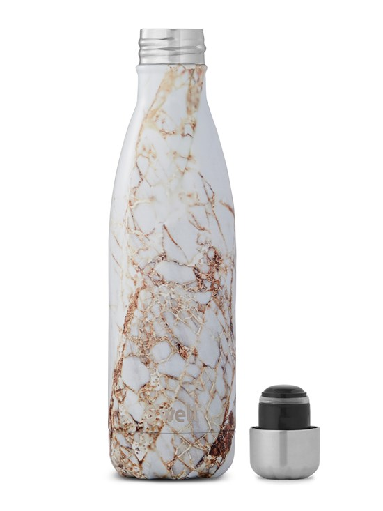 calacatta water bottle