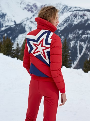 super star down ski jacket