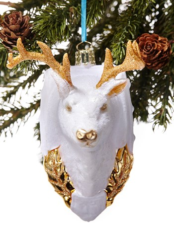 stag ornament