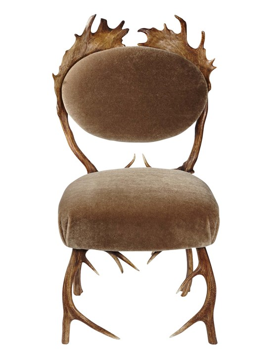 antler chair