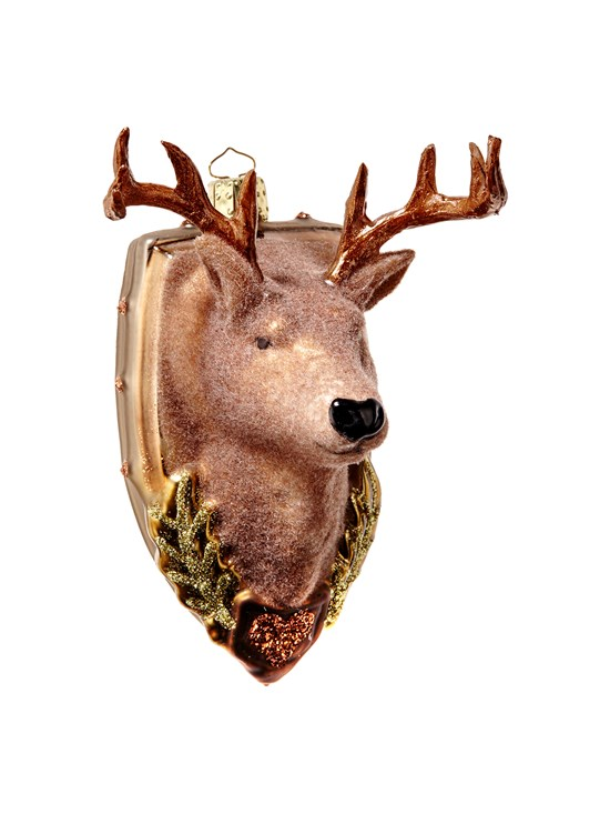 alpine stag ornament