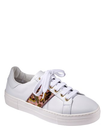 cheri leather sneaker
