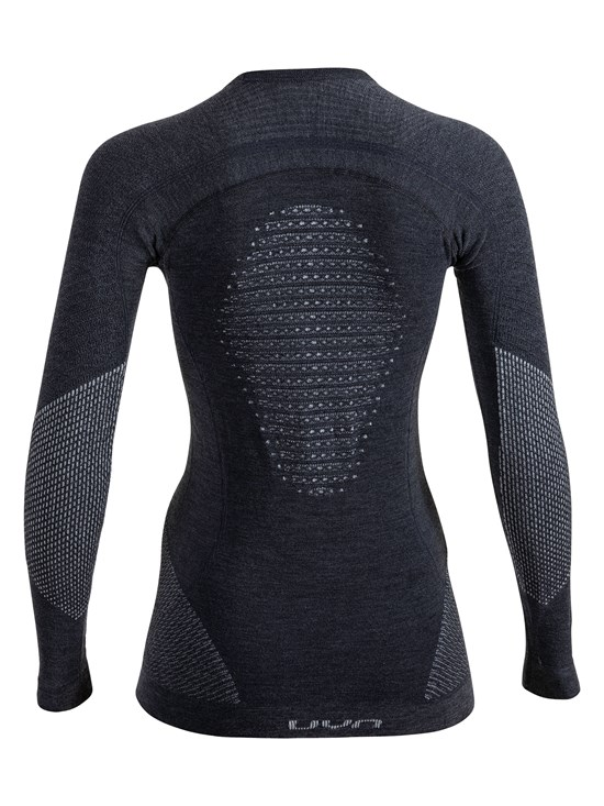 ladies cashmere long sleeve compression top