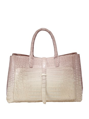 astrid degrade croc handbag